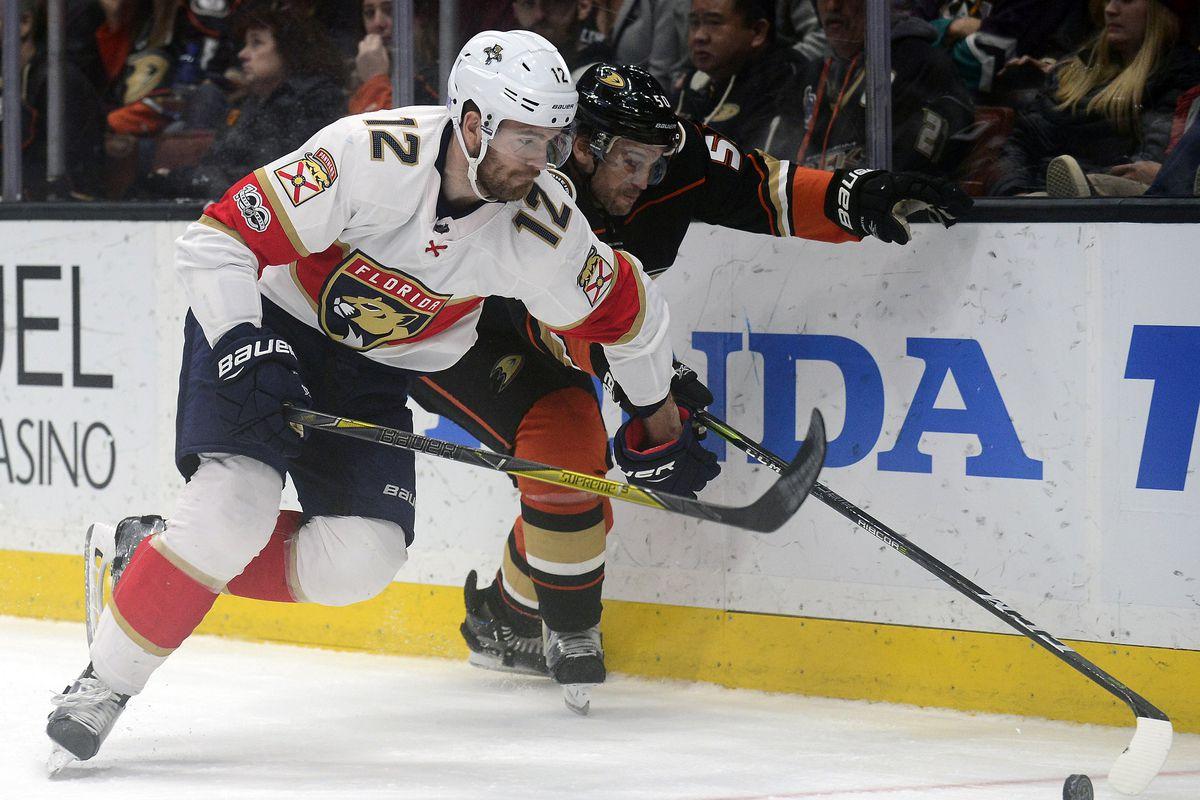 NHL: Florida Panthers at Anaheim Ducks