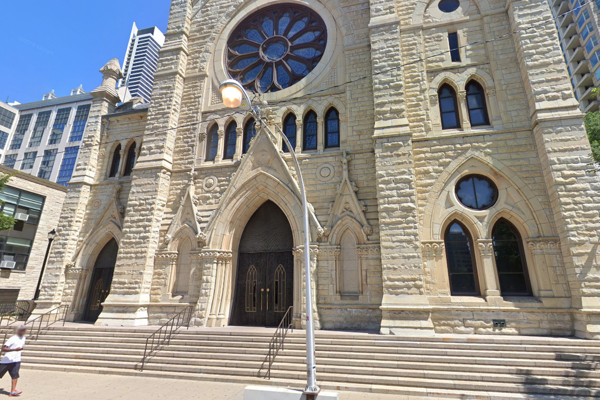 The Archdiocese of Chicago announced March 14, 2020, that they would be broadcasting their Saturday services from Holy Name Cathedral, 730 N. Wabash Ave.