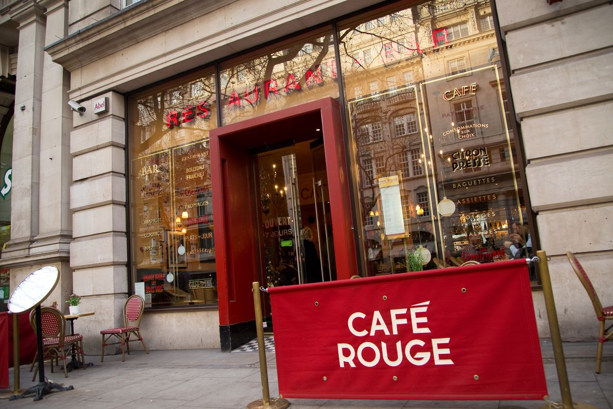 Cafe Rouge, which will close 31 restaurants in the U.K.