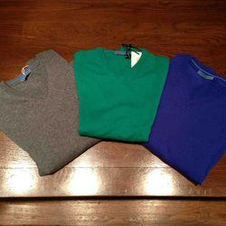 Sweaters $60-$120