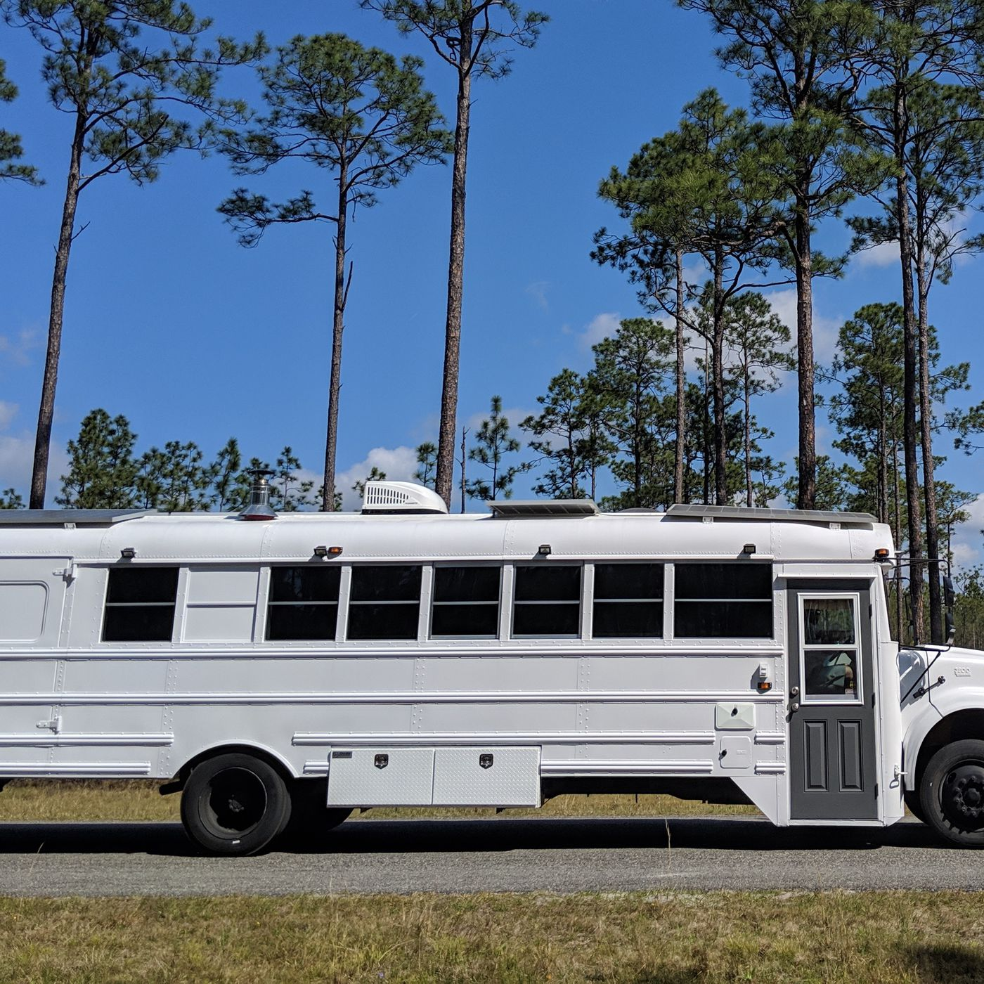 Converted School Bus Camper Is A Cozy Tiny Home On Wheels Curbed