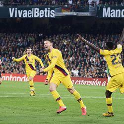 Lenglet wins it against Betis