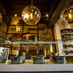 "Biltong Bar offers five varieties of jerky, or ""biltong."""