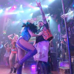 """<a href=""""http://eater.com/archives/2012/12/13/watch-guy-fieris-rocking-broadway-debut-in-rock-of-ages.php"""">Guy Fieri's ROCKING Broadway Debut in Rock of Ages</a>"""