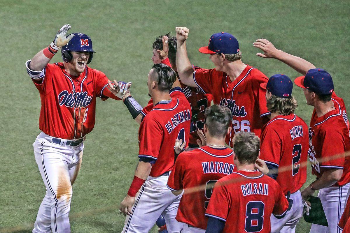 online store e02c2 64658 Right Field Review: Ole Miss baseball sweeps another ranked ...