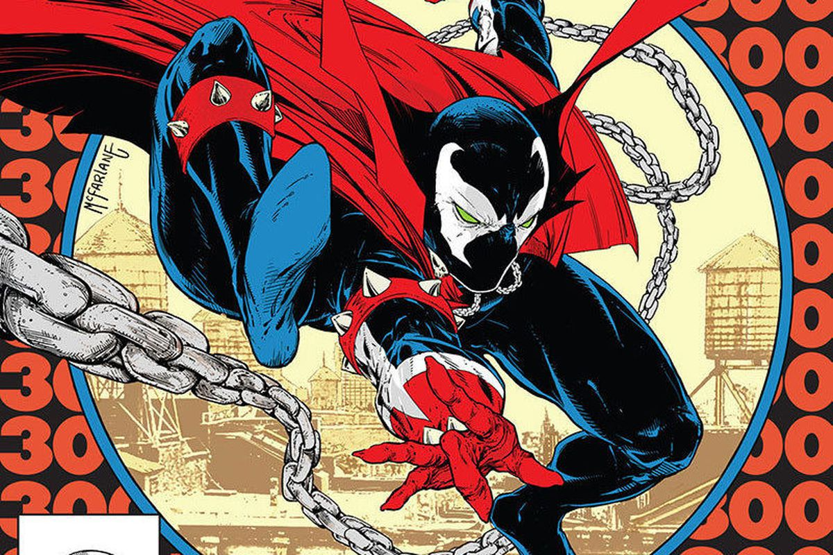 The cover of Spawn #300.