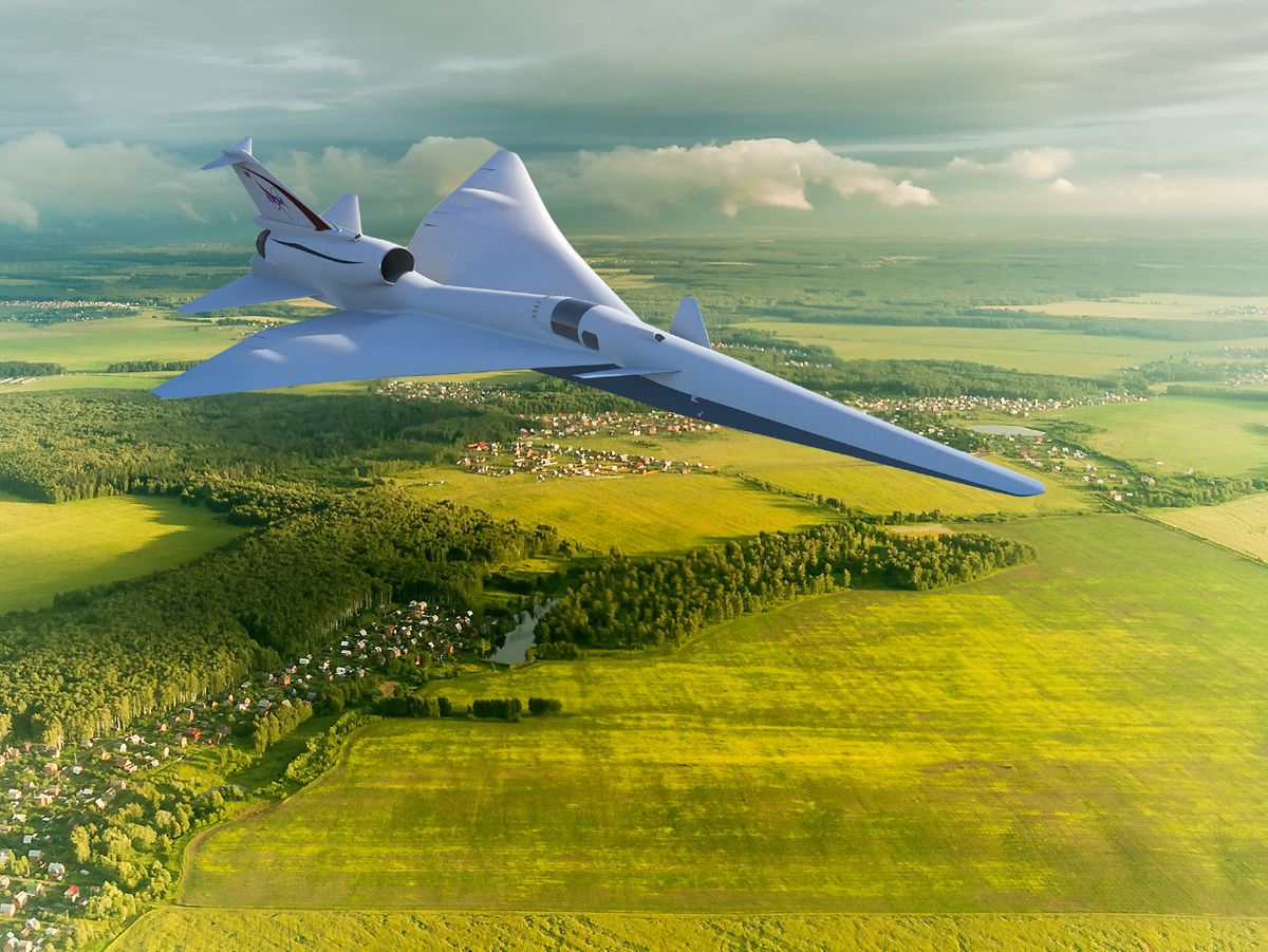 in several years the x 59 quesst will test its quiet supersonic technologies by flying over communities in the united states image nasa - supersonic fortnite styles