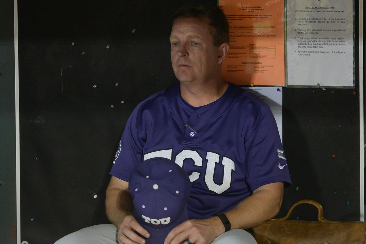 NCAA Baseball: College World Series-Coastal Carolina vs TCU