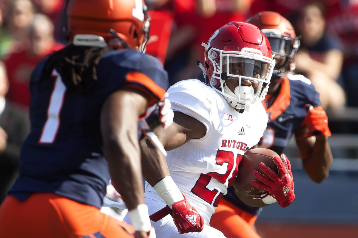 Rutgers Runs All Over Illinois For A 35-24 Victory - On the Banks eb75dc418