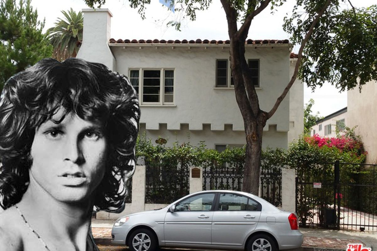 Jim Morrison S Reported Last Apartment Up For In Weho