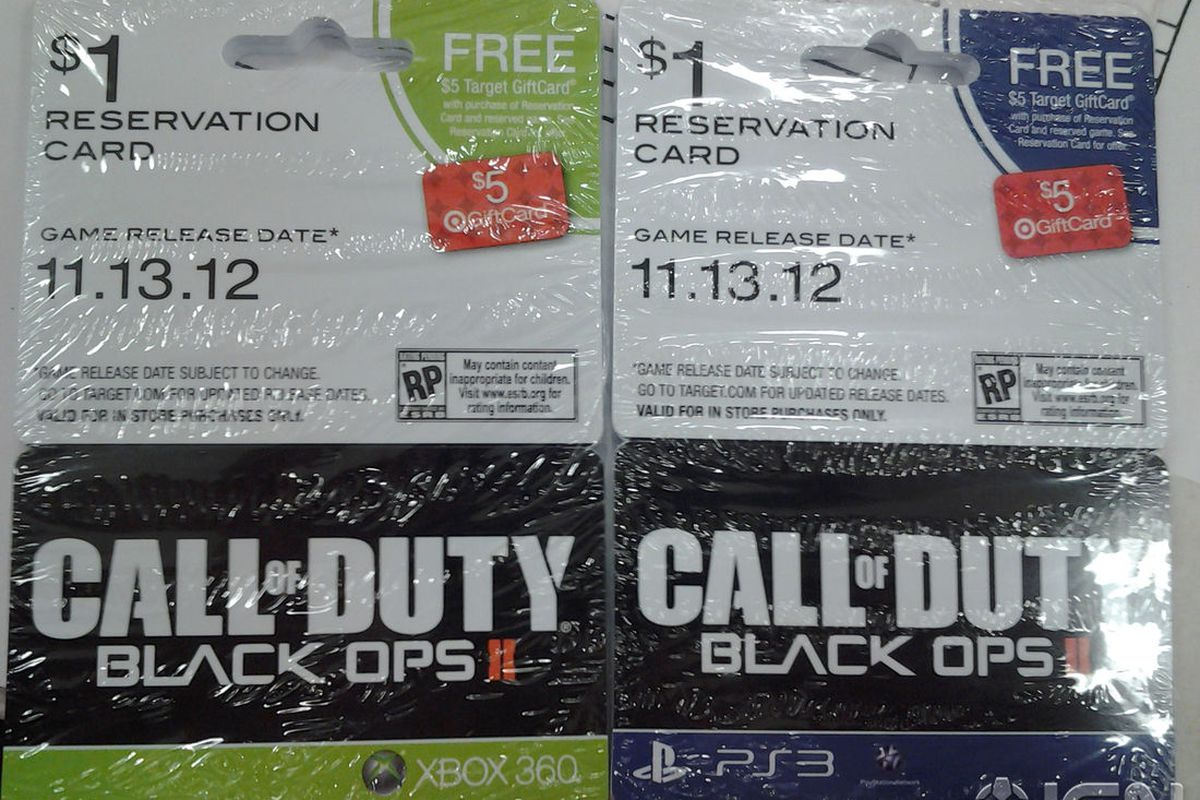 call of duty black ops 2 card