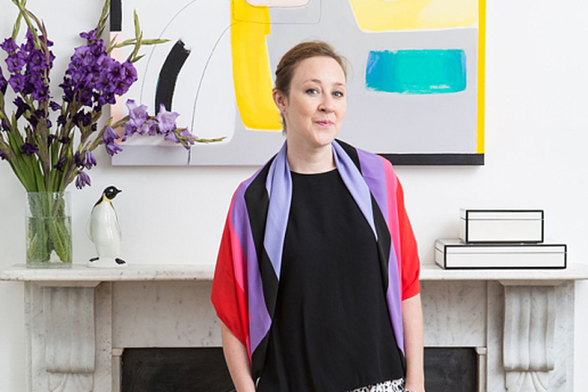 """Photo: Gemma Day via <a href=""""http://www.telegraph.co.uk/property/luxuryhomes/11229264/Style-secrets-Fashion-designer-Louisa-Parris-shows-us-round-her-luxury-home.html"""">The Telegraph</a>"""