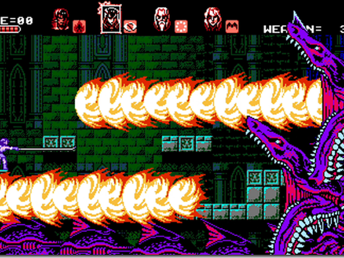 Bloodstained Curse Of The Moon Is An 8 Bit Castlevania Revival