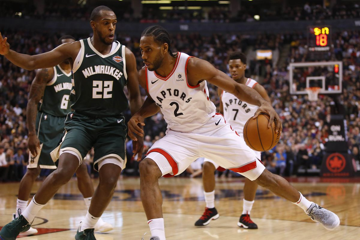 Raptors Cant Slow Down Bucks Three Point Shooting Fall 104 99
