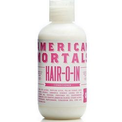 """From American Mortals' house line of beauty products, <a href=""""http://american-mortals.myshopify.com/collections/frontpage/products/hair-o-in"""">Hair-o-In</a> ($14) is replete with rose and jojoba seed oils, plus a hearty dose of B-5 vitamins to replenish t"""