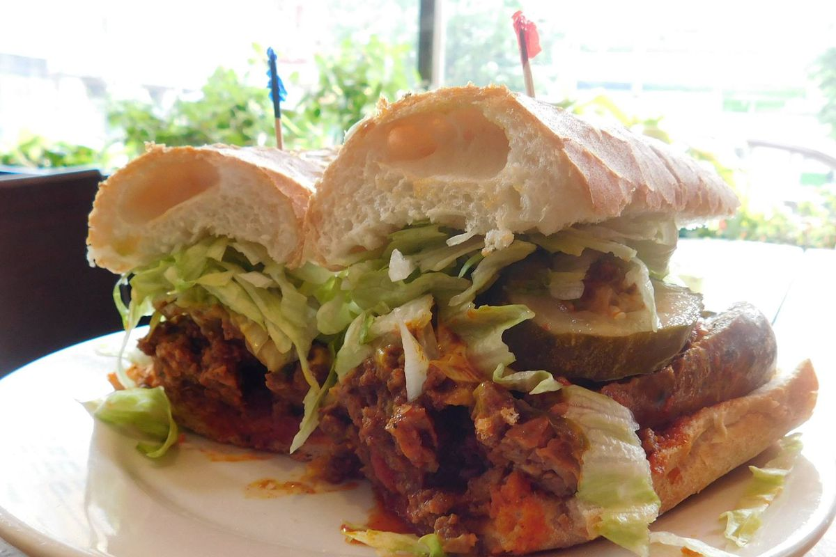A po' boy from Tchoup's