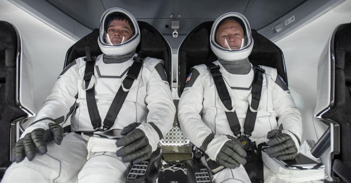 How to watch two NASA astronauts journey home in SpaceX's Crew Dragon capsule - The Verge thumbnail