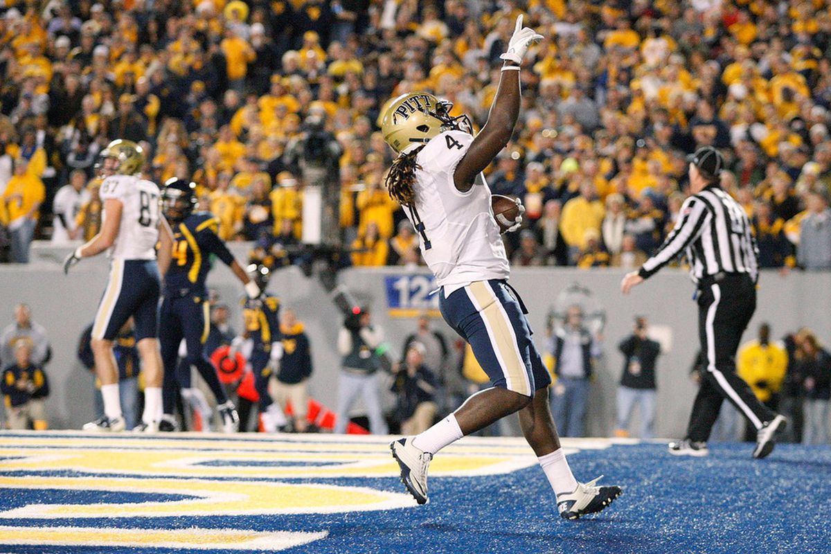 The days of the Backyard Brawl as a conference game are over.  (Photo by Jared Wickerham/Getty Images)
