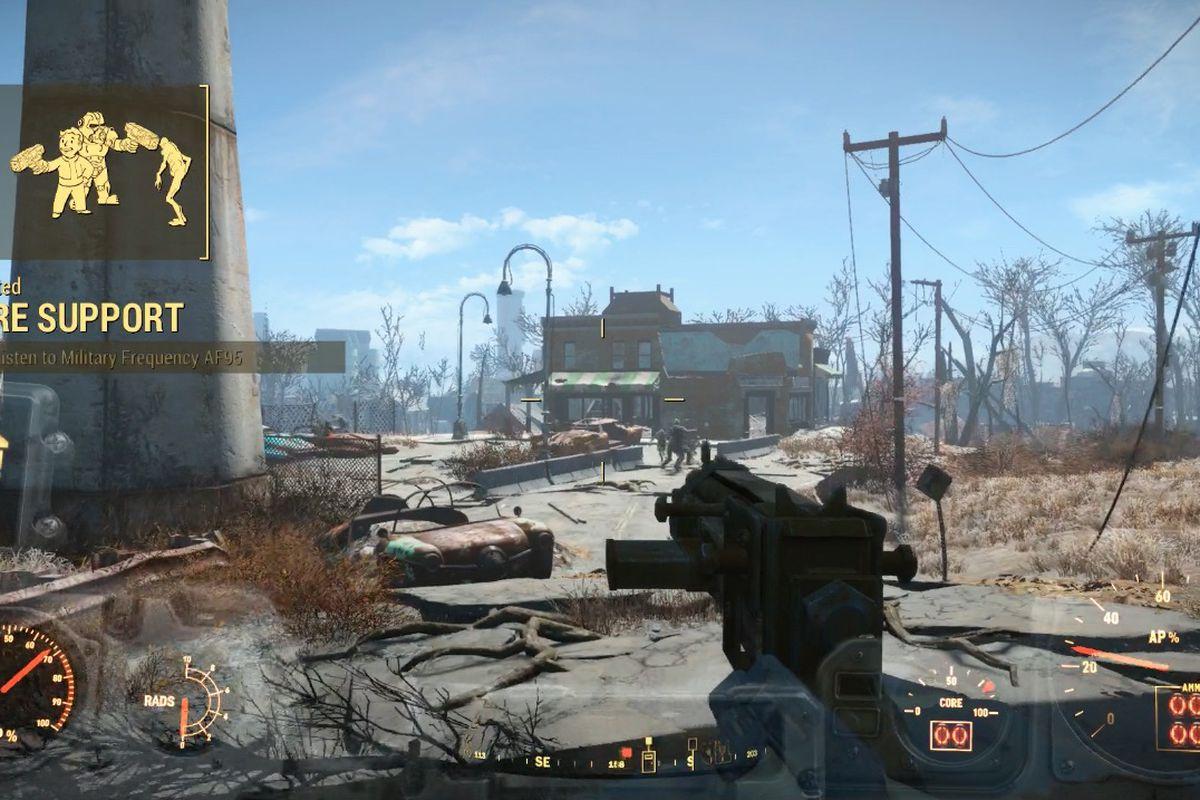 Fallout 4: Fire Support walkthrough - Polygon