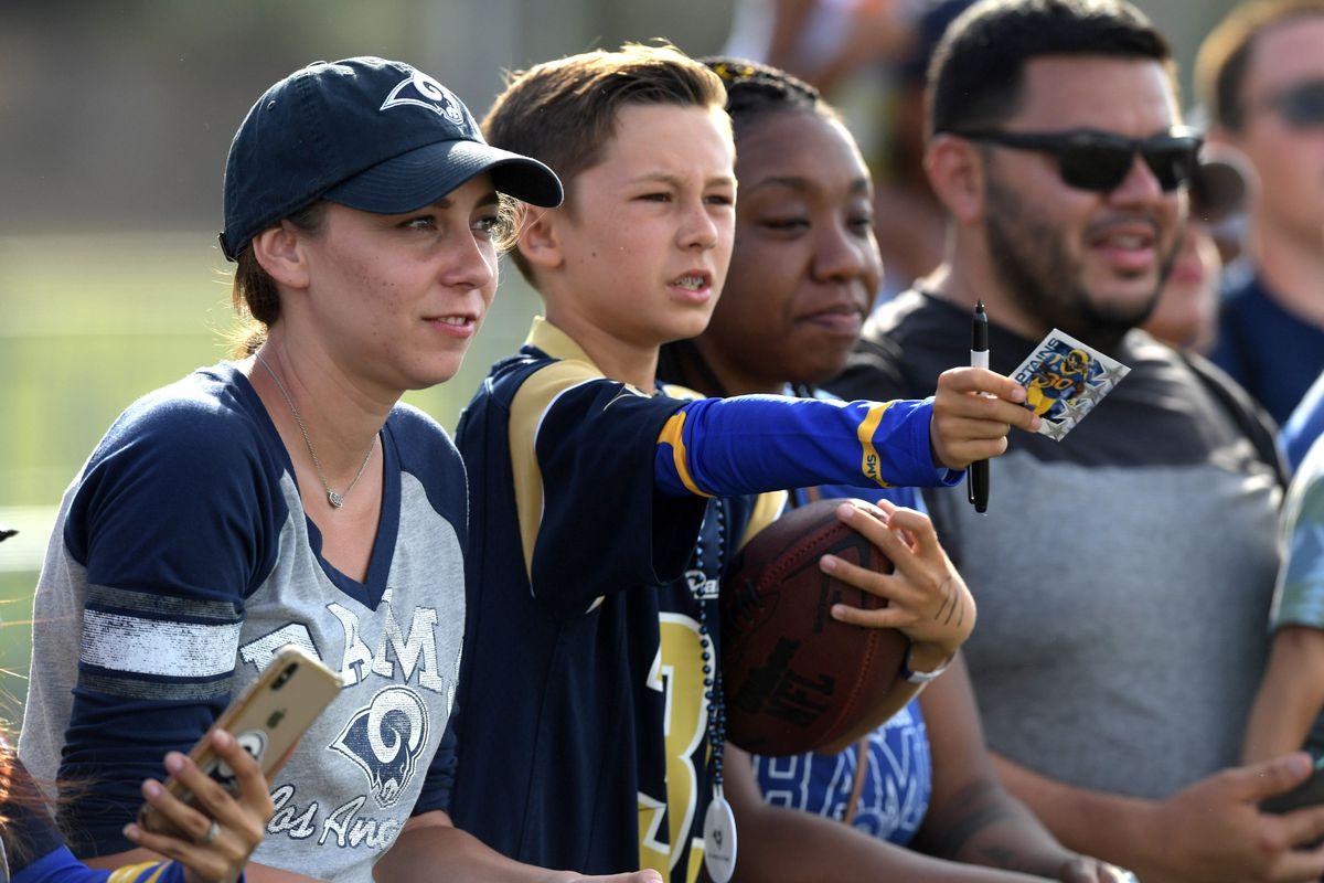 4095ef8f 2019 LA Rams training camp August 4 practice live updates thread ...