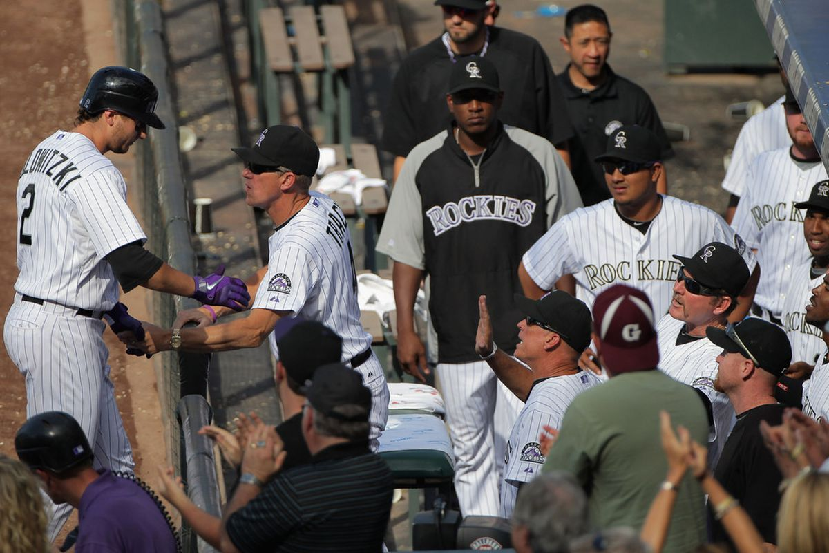 The Rockies must be stoked that Tulowitzki just homered to give their team the lead in the 8th inning, right? RIGHT? Apparently not.