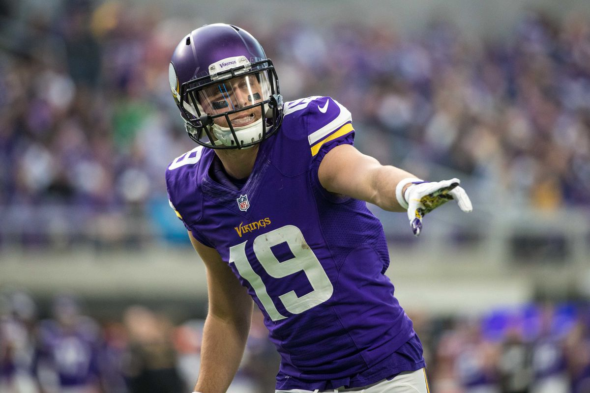 Adam Thielen Vikings Wallpaper
