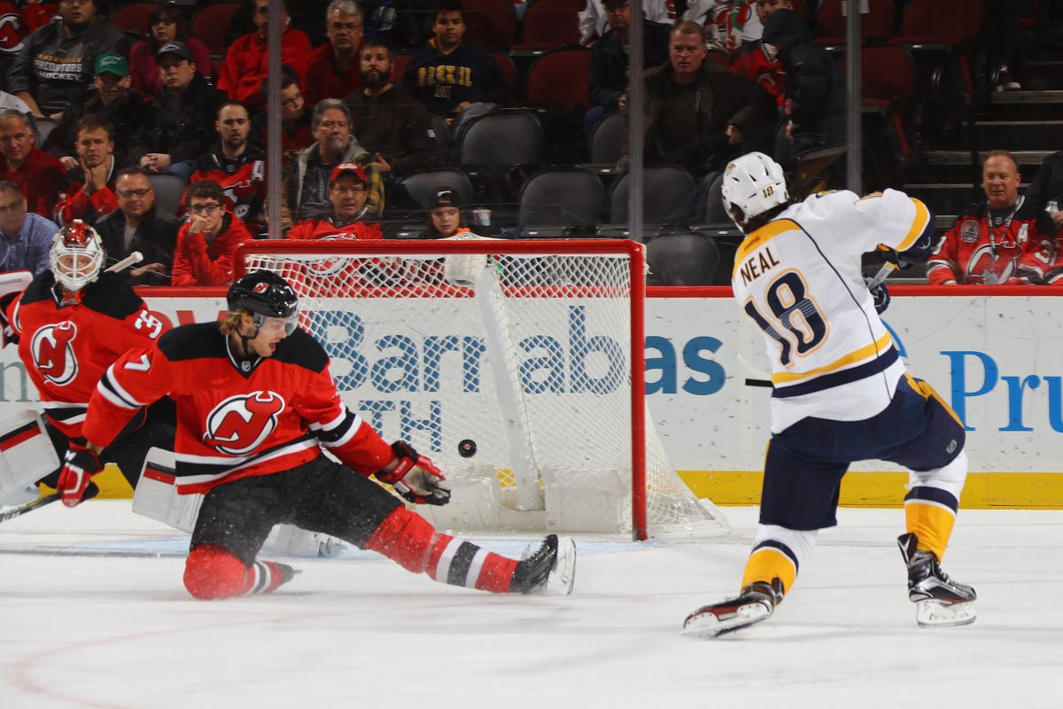 Happy Boxing Day! Here's James Neal gifting us all a beautiful goal.