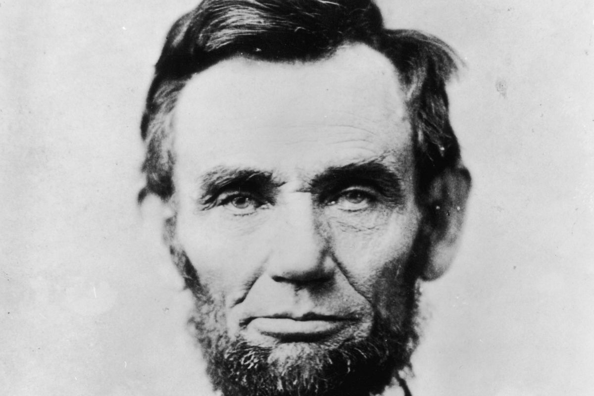 Abraham Lincoln, the 16th president of the United States and arguably one of its best presidents on foreign policy.