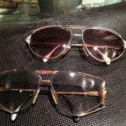 Vintage Cazal eyewear from the 1980s