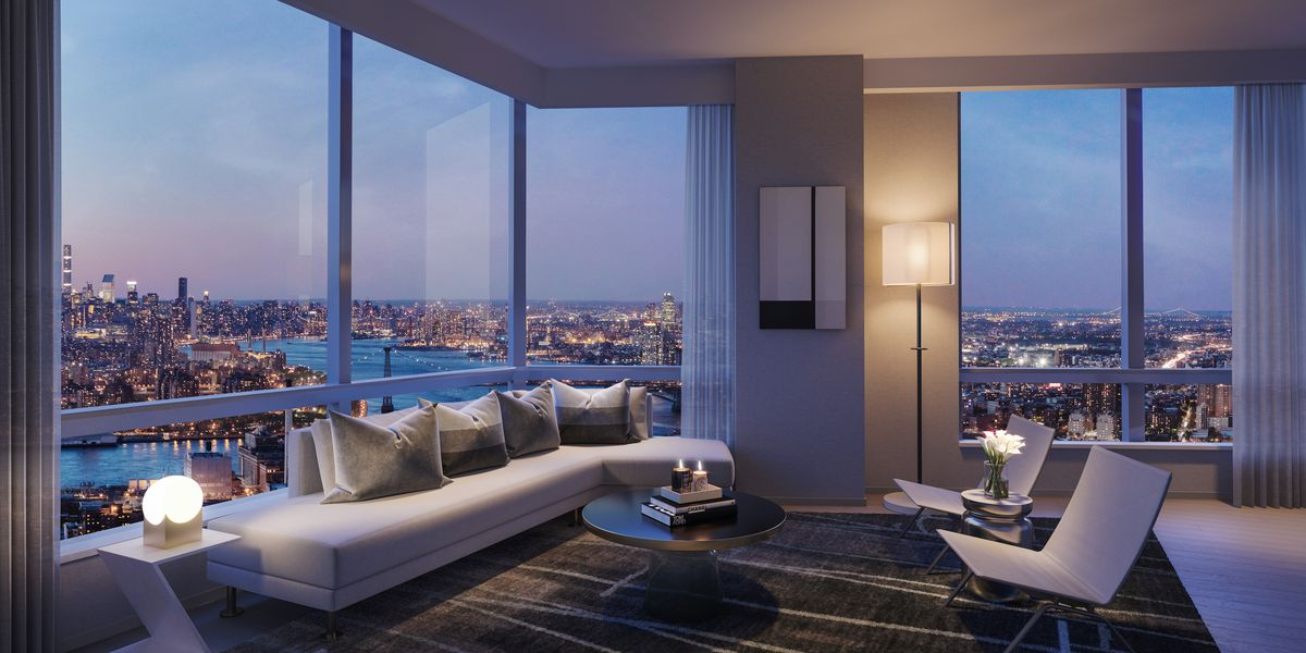 Extell's First Brooklyn Condo Launches Sales From 48K Curbed NY New 2 Bedroom Condo Nyc Creative Design