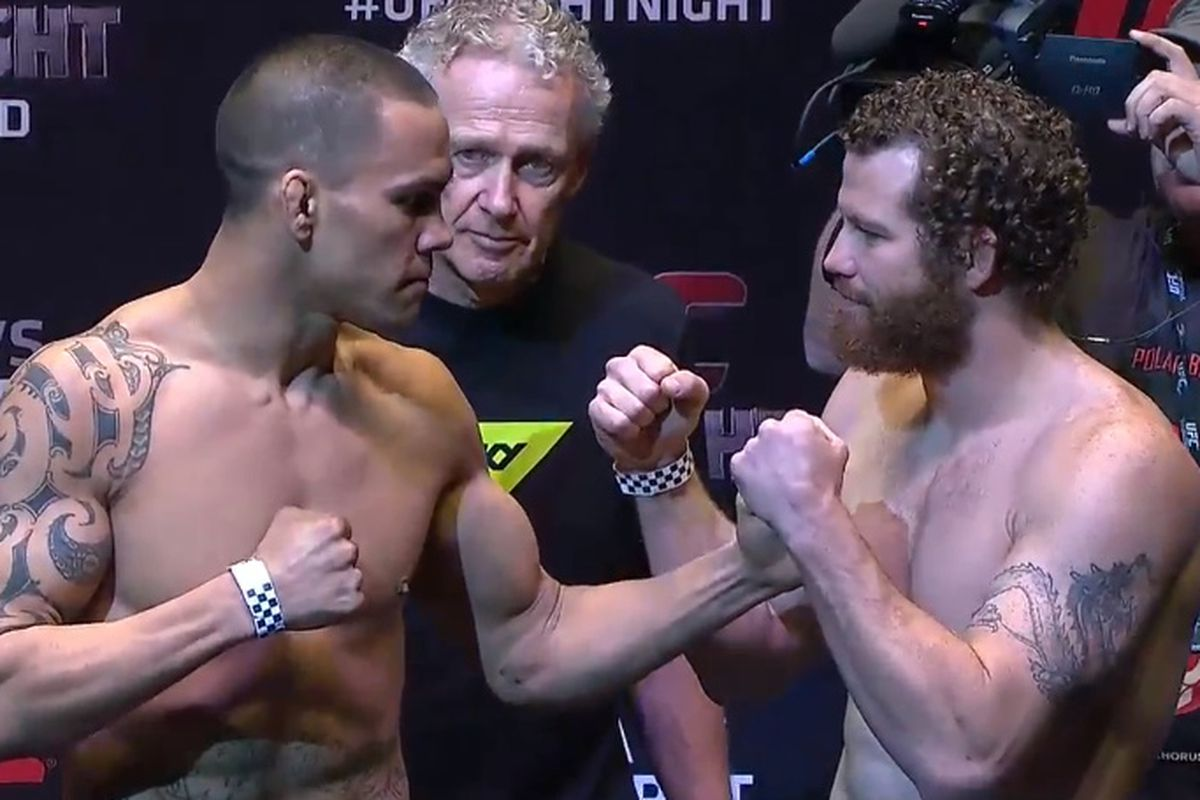 ufc fight night 43 card james te huna vs nate marquardt fight