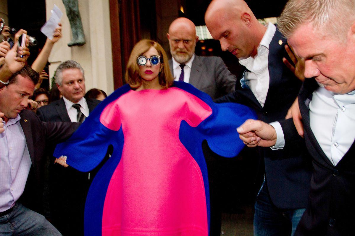 Comme Des Garcons Lady Gaga