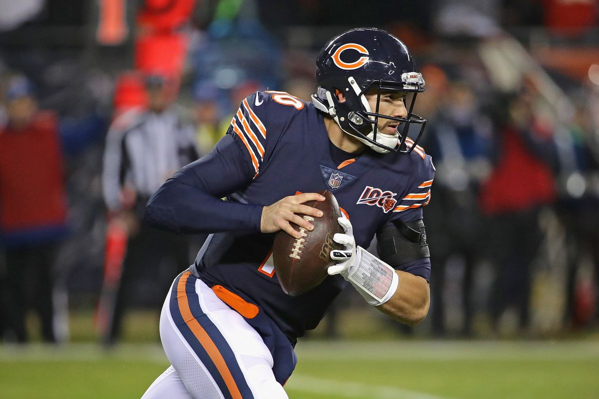 Bears quarterback Mitch Trubisky is entering Year 4.
