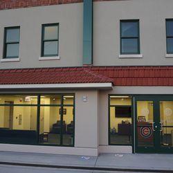 The VIP entrance on Clark Street