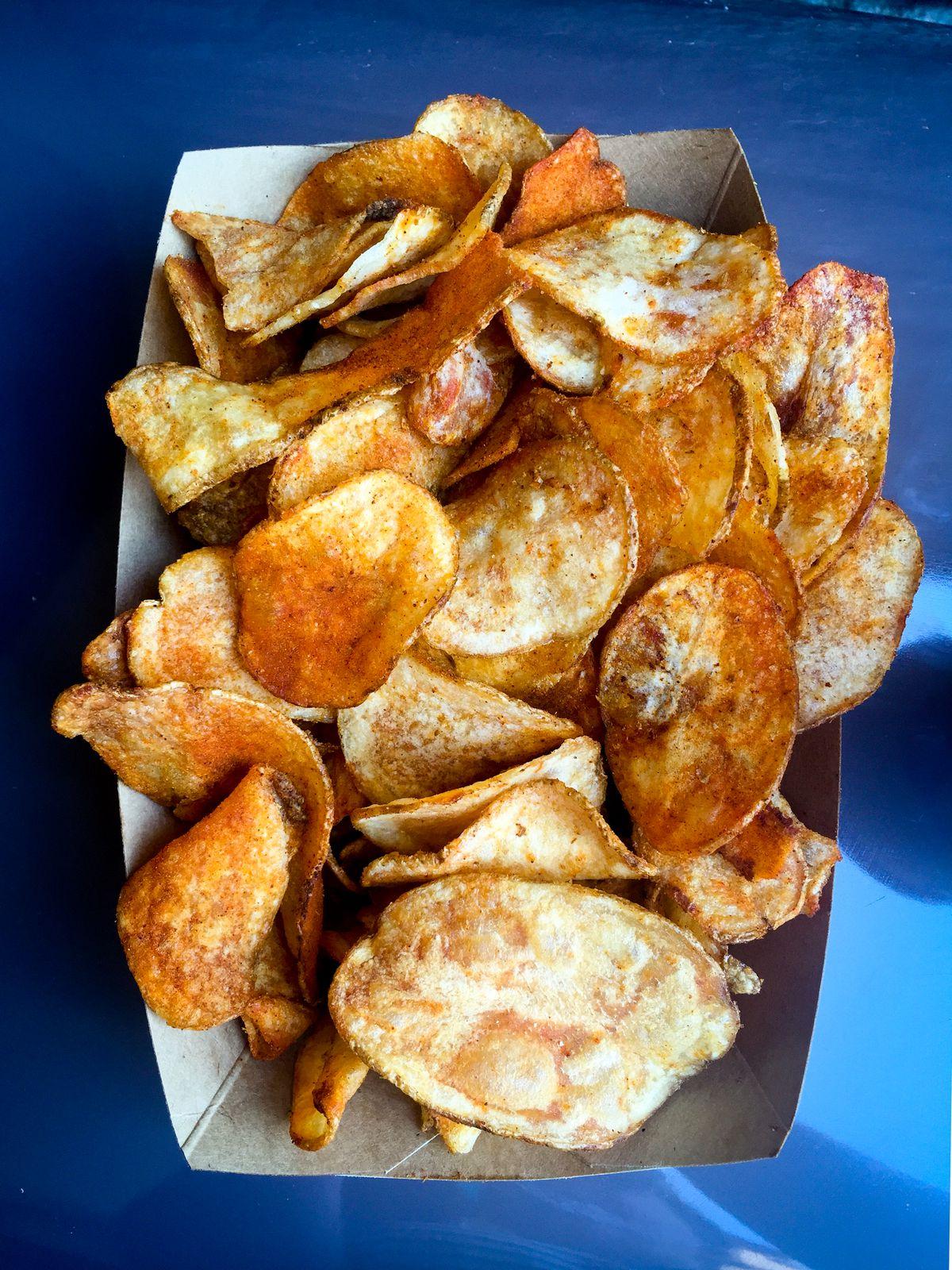 disney potato chips