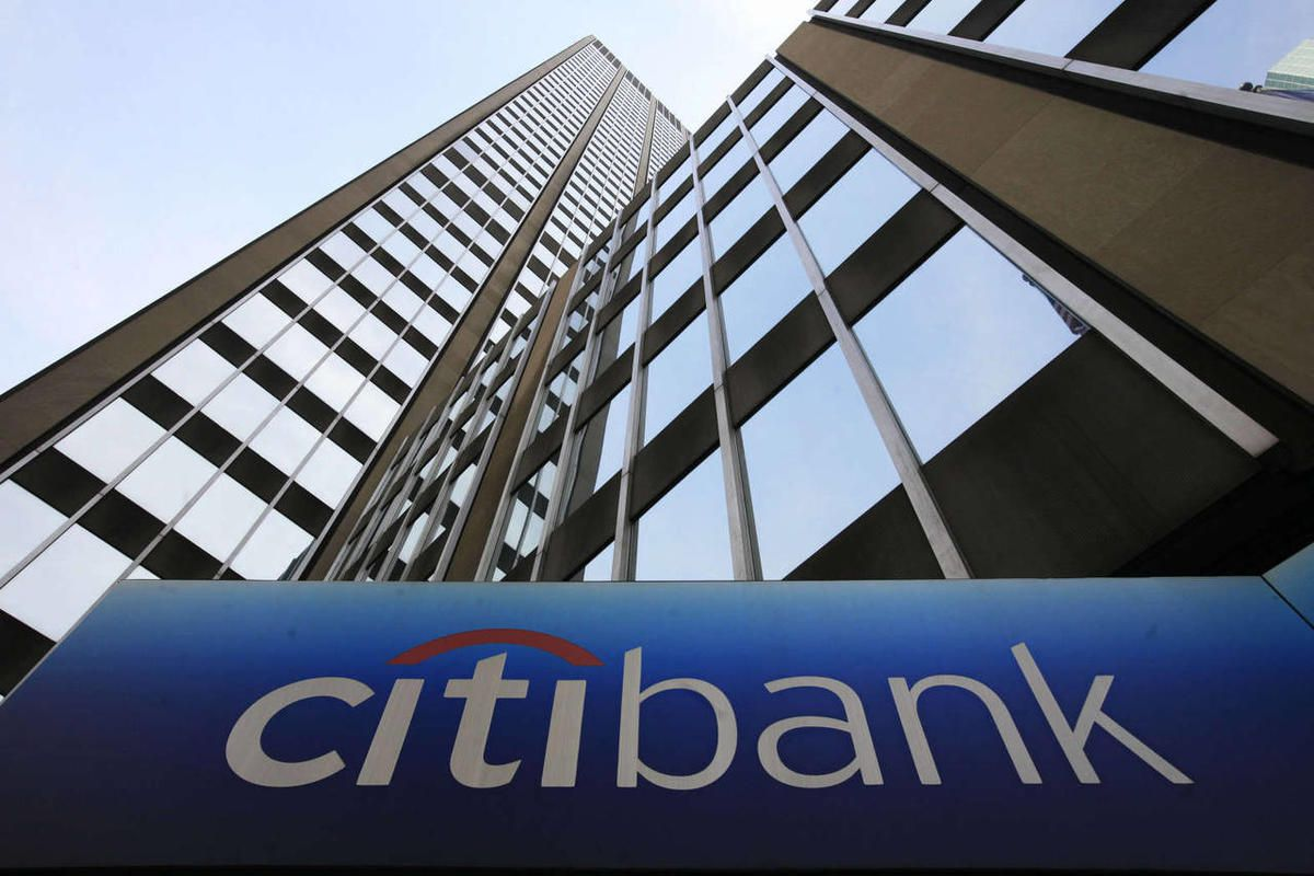 In this April 30, 2009 file photo, a sign for Citibank is shown at Citigroup headquarters in New York.