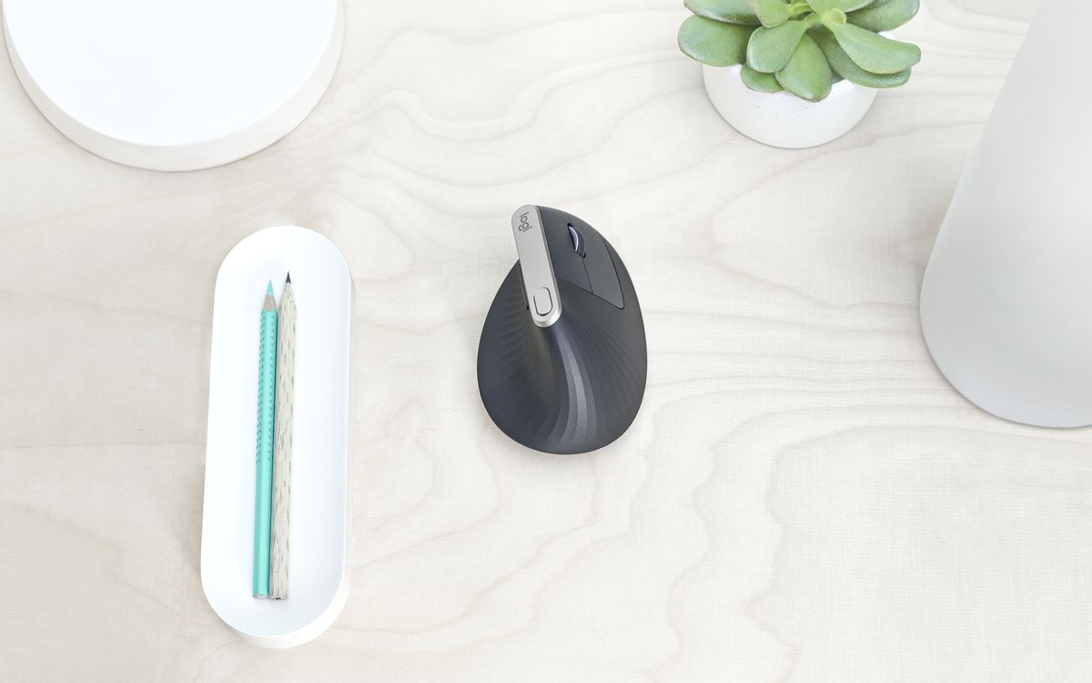 Logitech's MX Vertical turns the company's best mouse on its