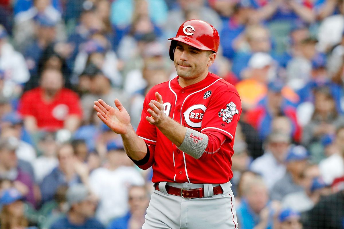 Reds collect all the hits, win second straight series vs. Cubs