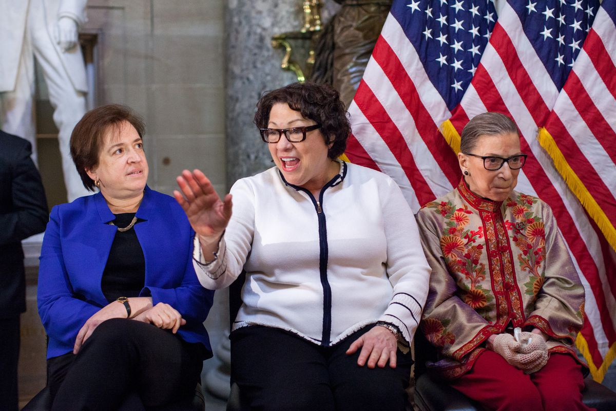 U.S. Supreme Court Women Justices Are Honored On Capitol Hill For Women's History Month