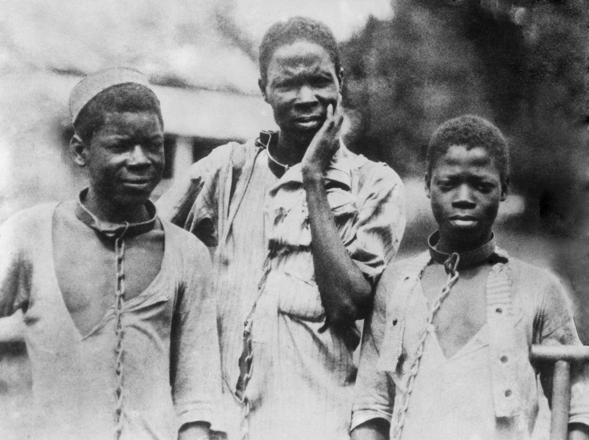 American slaves.