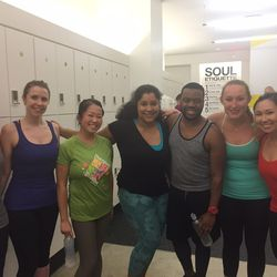 These co-workers from Open Table signed up for Racked Fit Club x SoulCycle together. Hooray!