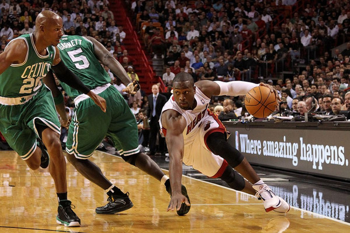 The Heat could really use a bounce-back game from Dwyane Wade tonight against Toronto.