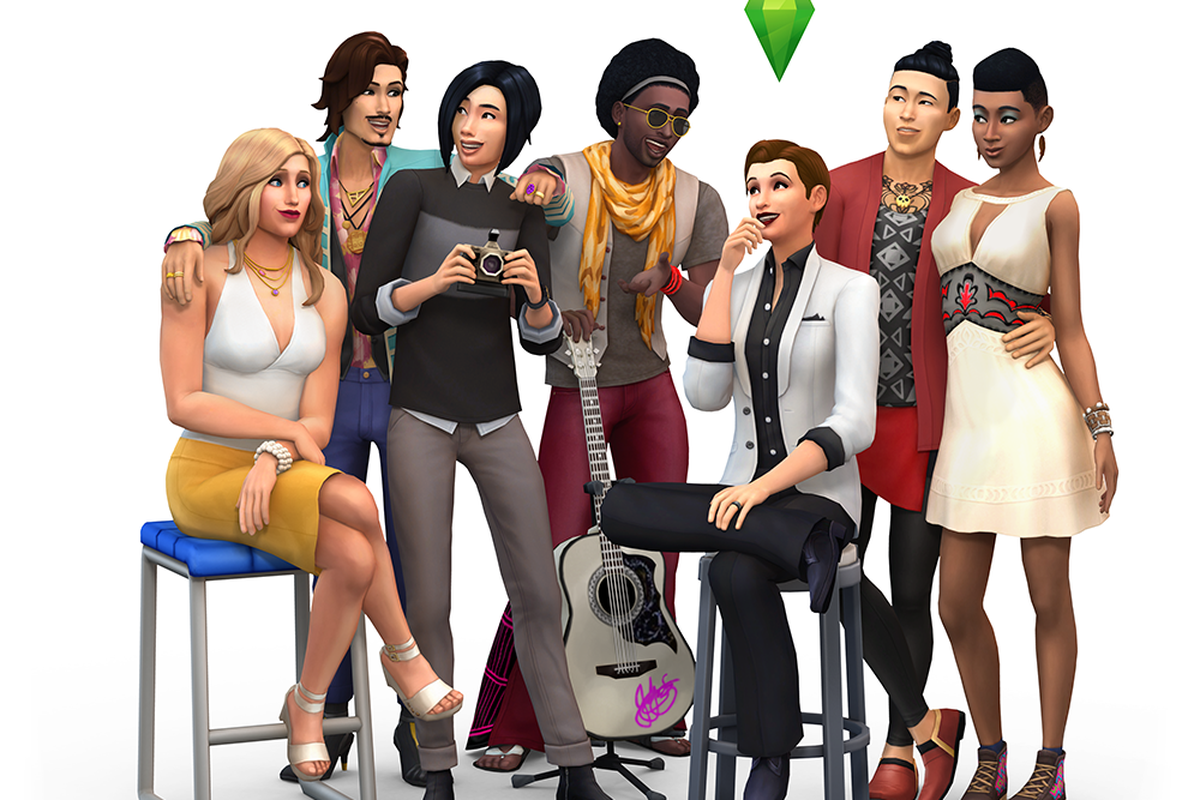 a huge sims 4 update removes gender restrictions from character customization the verge. Black Bedroom Furniture Sets. Home Design Ideas