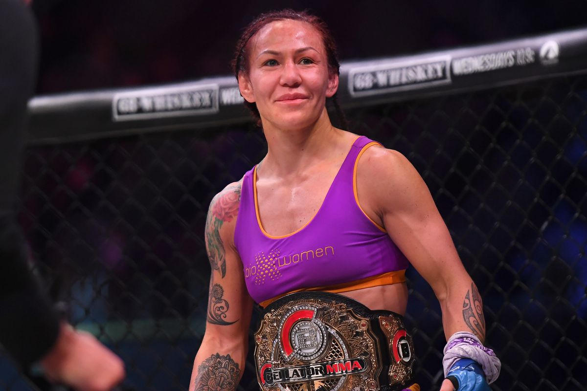 Cris Cyborg is now signed with Bellator.