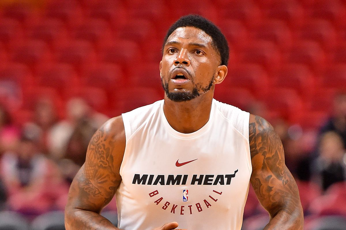 premium selection fca52 0e3eb Udonis Haslem signs up for season 16 with Miami Heat, can ...