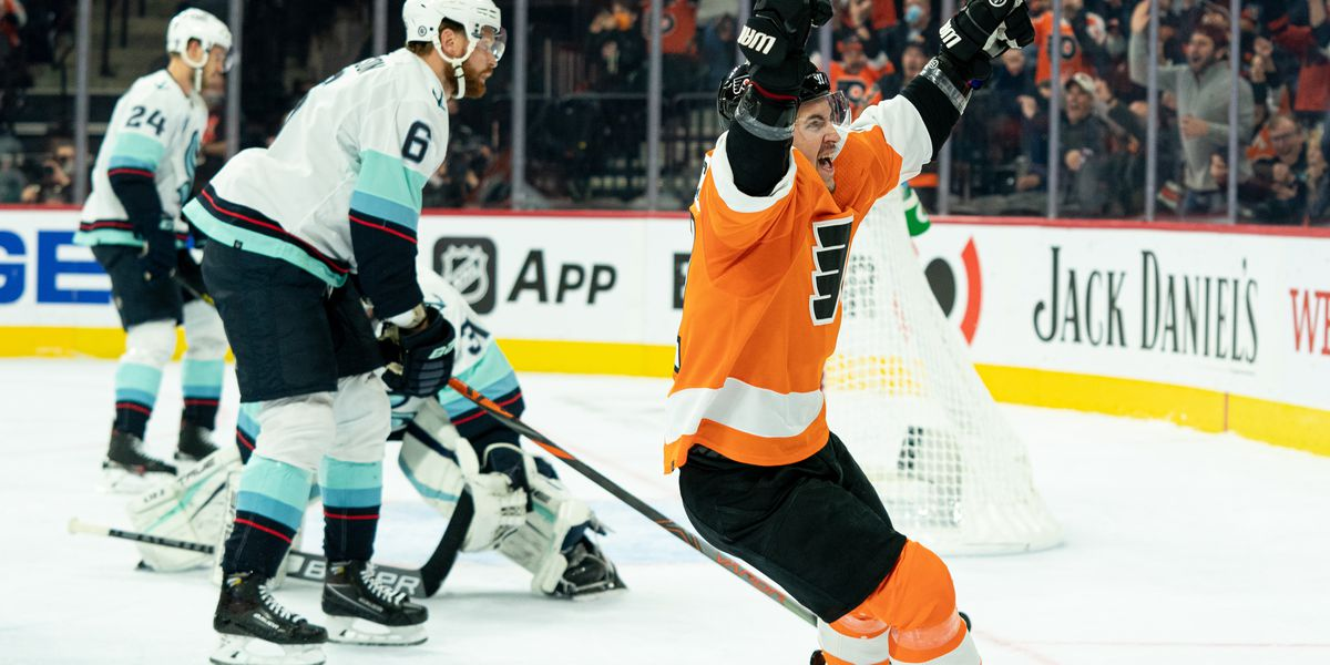 Recap: Flyers grab first win of season with dominating showing vs. Kraken