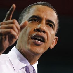 U.S. President Barack Obama speaks about health care reform at the University of Iowa in Iowa City, Thursday.