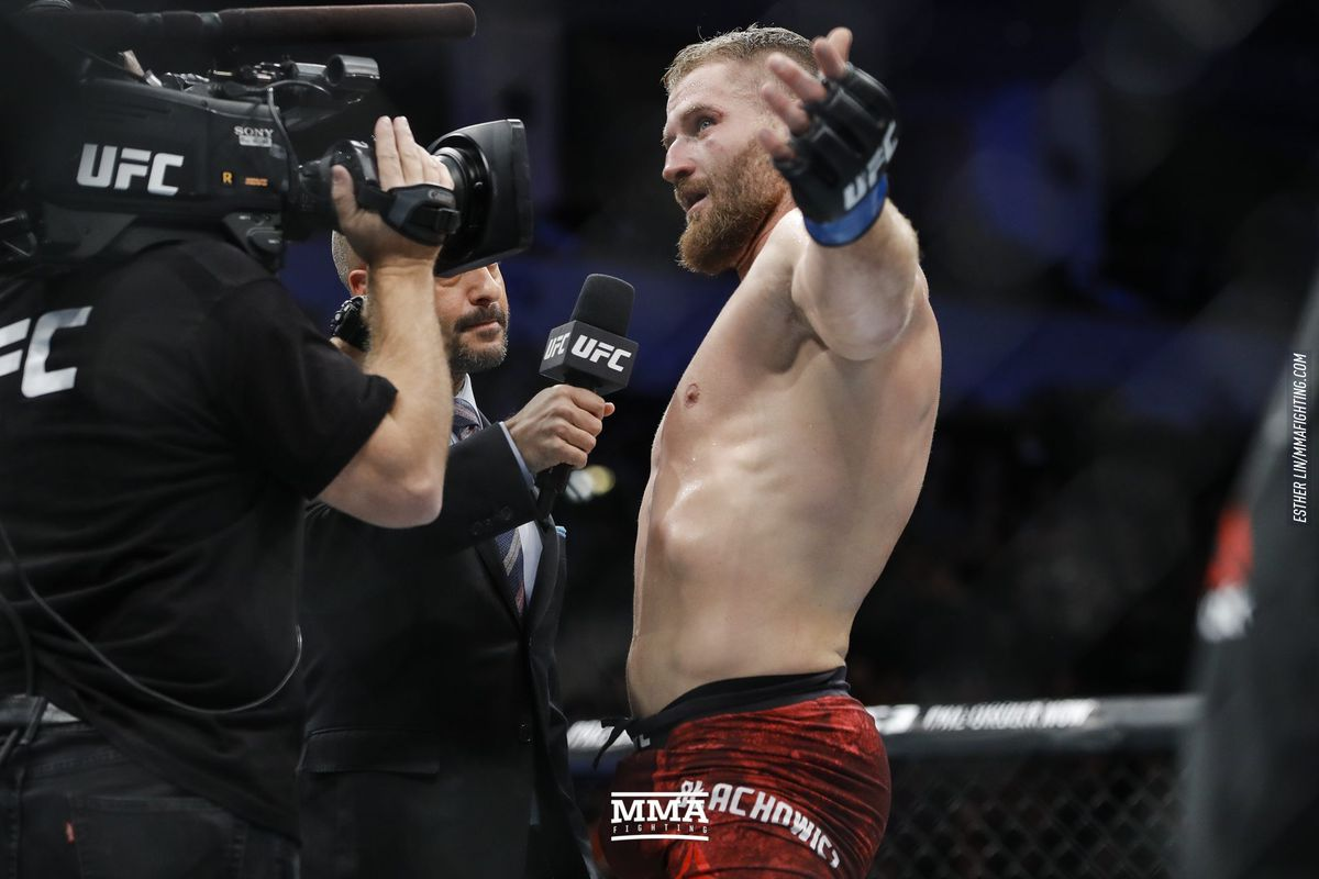 Jan Blachowicz prepared to talk trash to secure title shot if