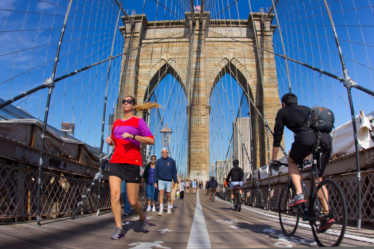 Brooklyn Bridge Congestion Could Be Eased With New Bike Entrance
