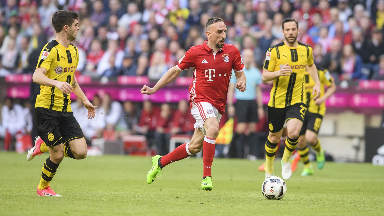 Bayern Dortmund 4:1